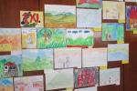 Изложба на рисунки от училищни конкурси